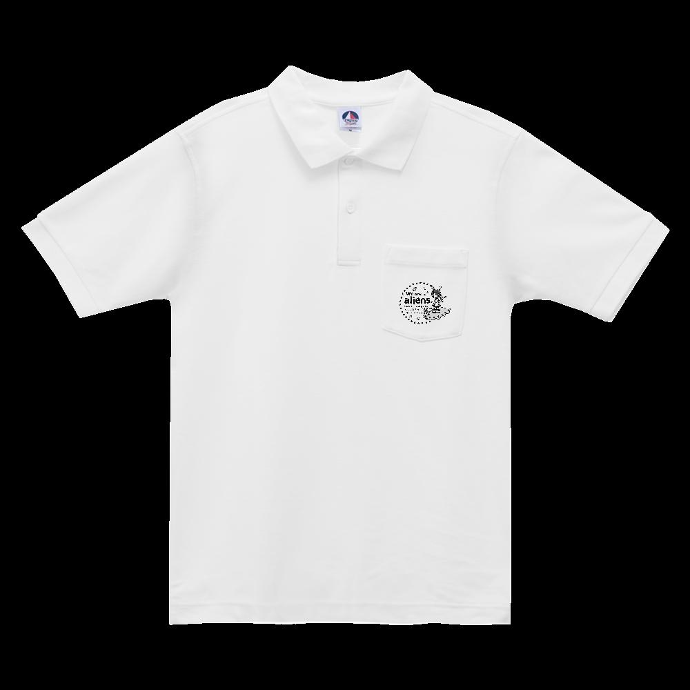 我々は宇宙人だ ベーシックスタイルポロシャツ(ポケット付) ベーシックスタイルポロシャツ(ポケット付)