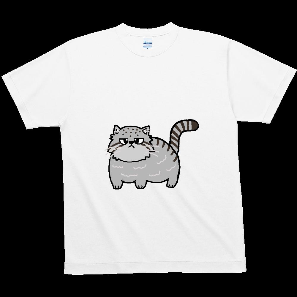 マヌルネコ ハニカムメッシュTシャツ