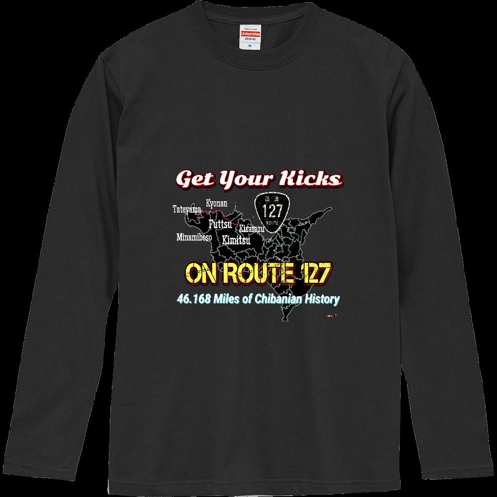 房総半島ROUTE 127ロングTシャツ ロングスリーブTシャツ