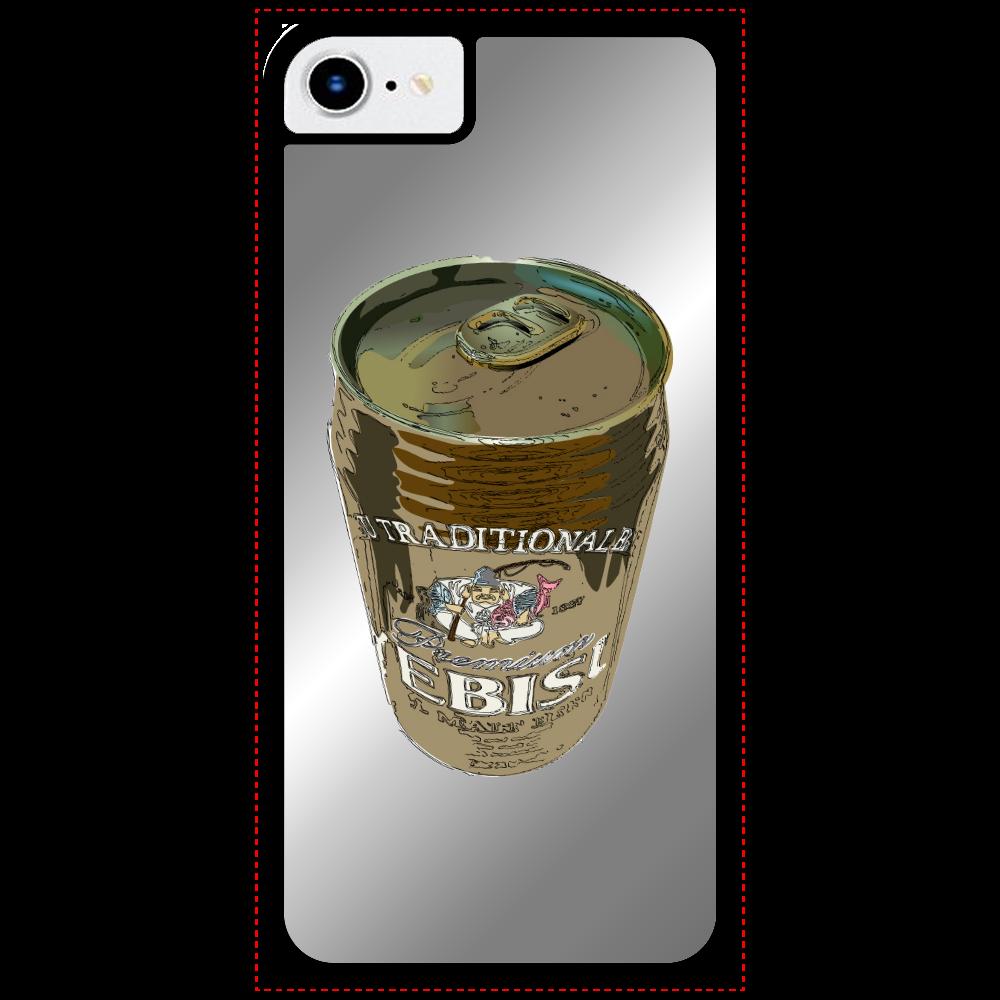 EBISU缶 iPhone SE2ミラーパネルケース
