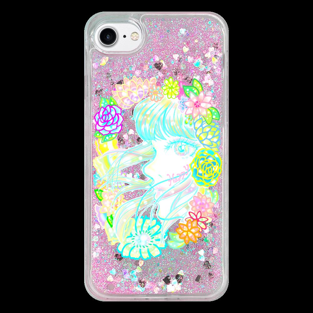 ユメ♡✳︎かわ⭐︎iPhone8ケース iPhone 8トキメキハートハードケース