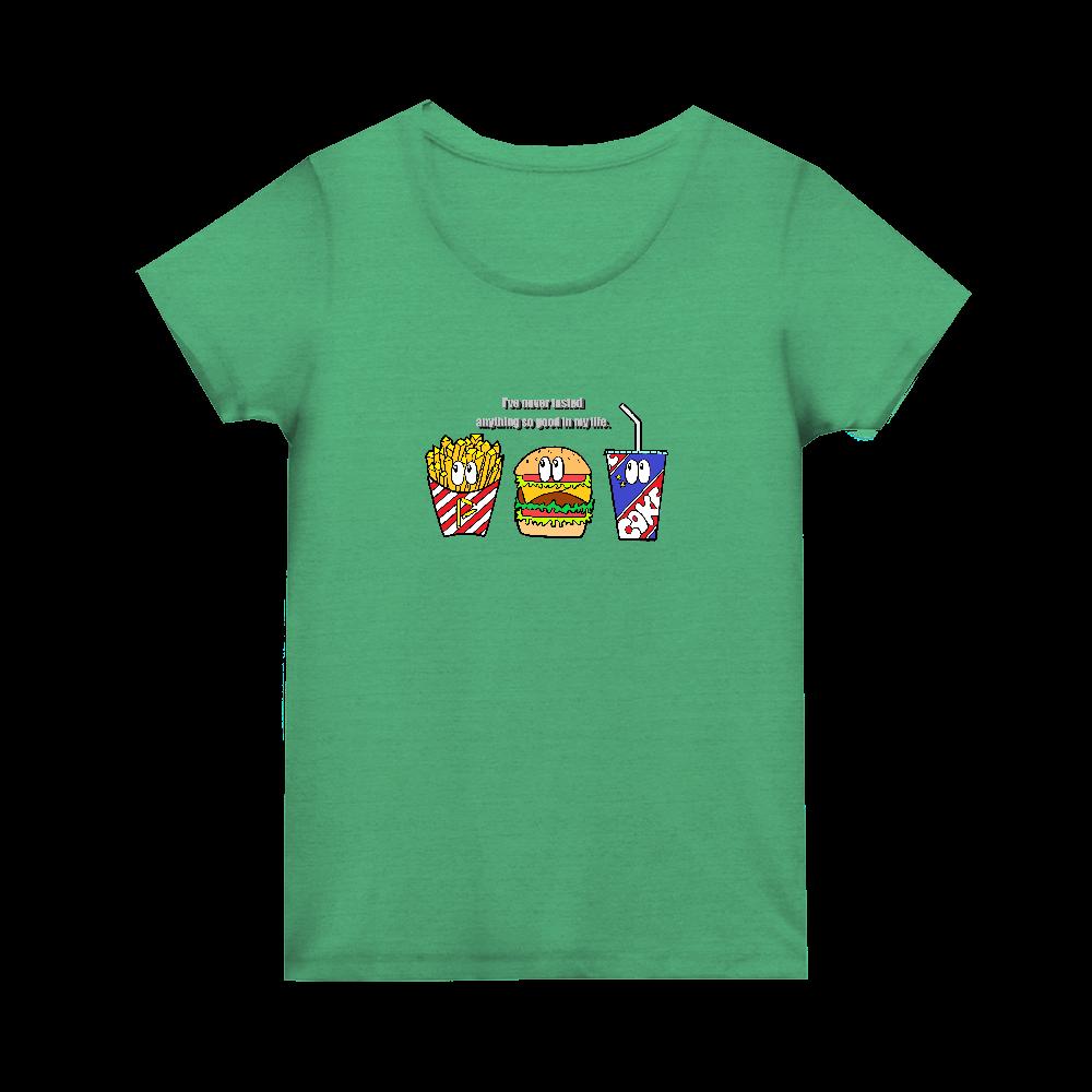 ジャンクフード/カラー トライブレンド ウィメンズ Tシャツ
