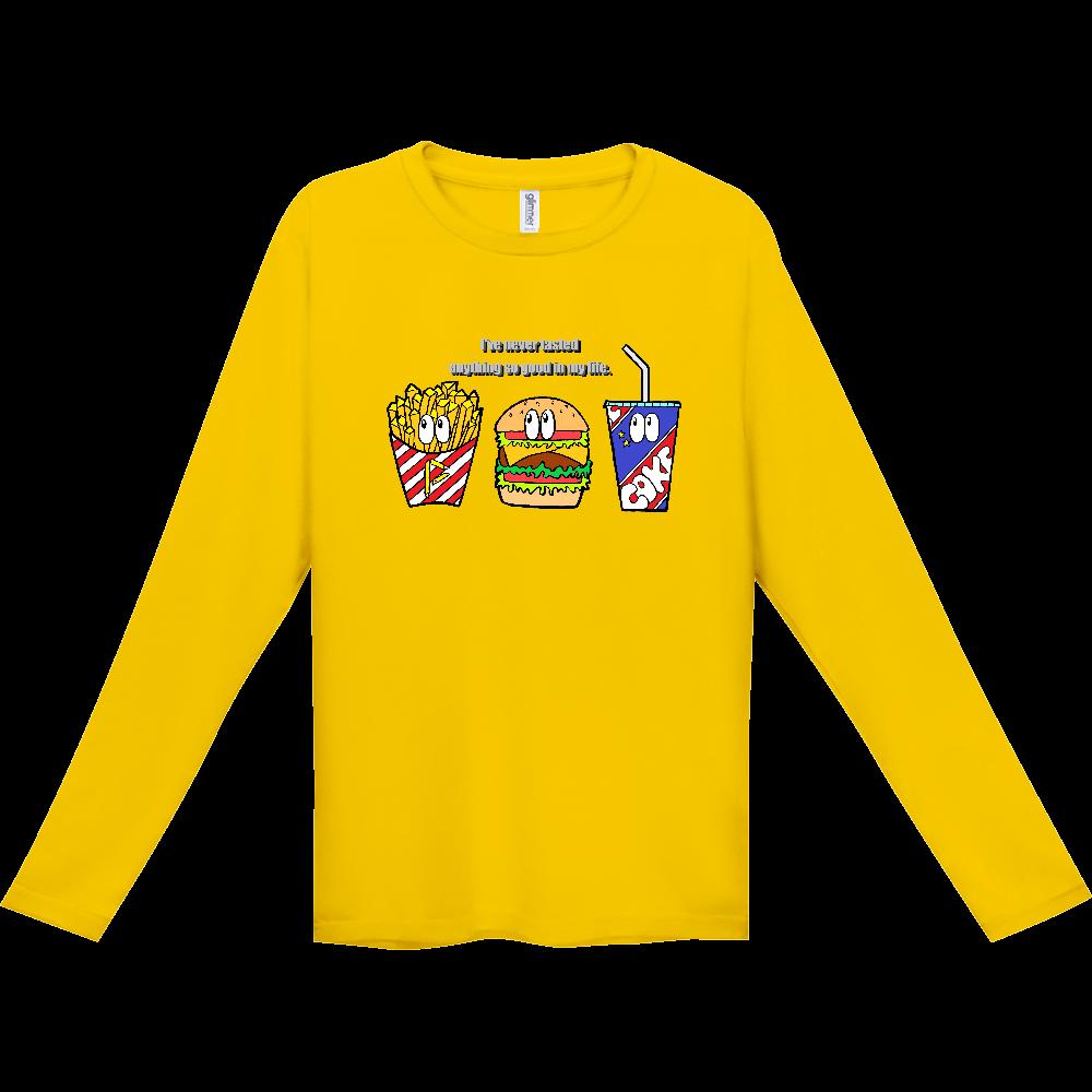 ジャンクフード/カラー インターロック ドライ長袖Tシャツ