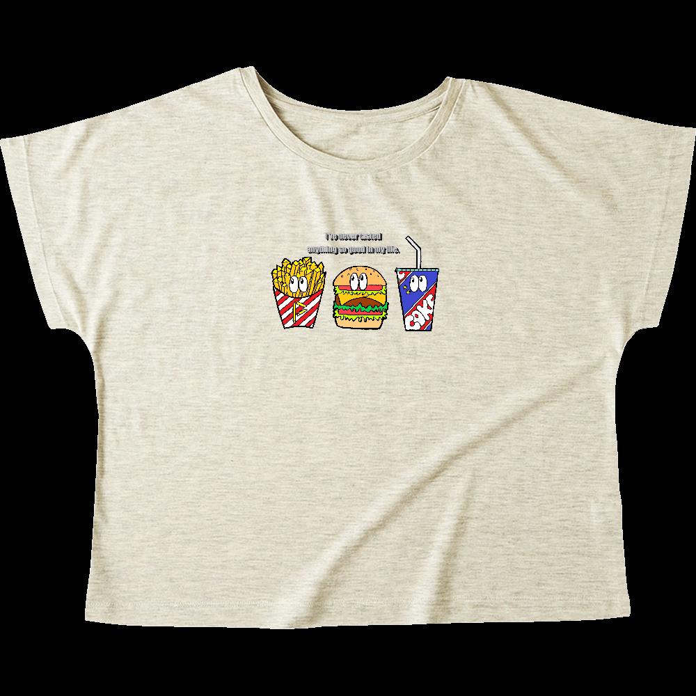 ジャンクフード/カラー ウィメンズ ドルマン Tシャツ