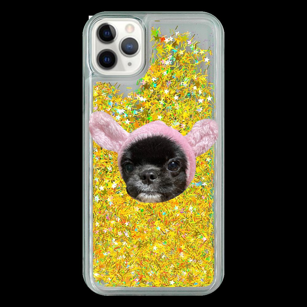 我が家のぐみちゃん3  iPhone11 Pro Max グリッターケース