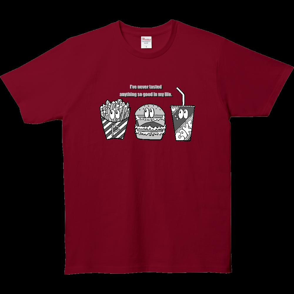 ジャンクフード/モノクロ 5.0オンス ベーシックTシャツ(キッズ)