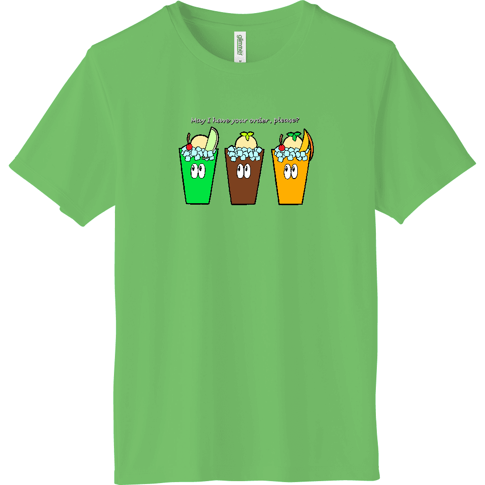 ドリンク/モンスター インターロックドライTシャツ