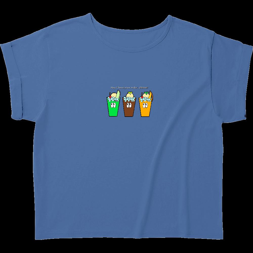 ドリンク/モンスター ウィメンズ ロールアップ Tシャツ