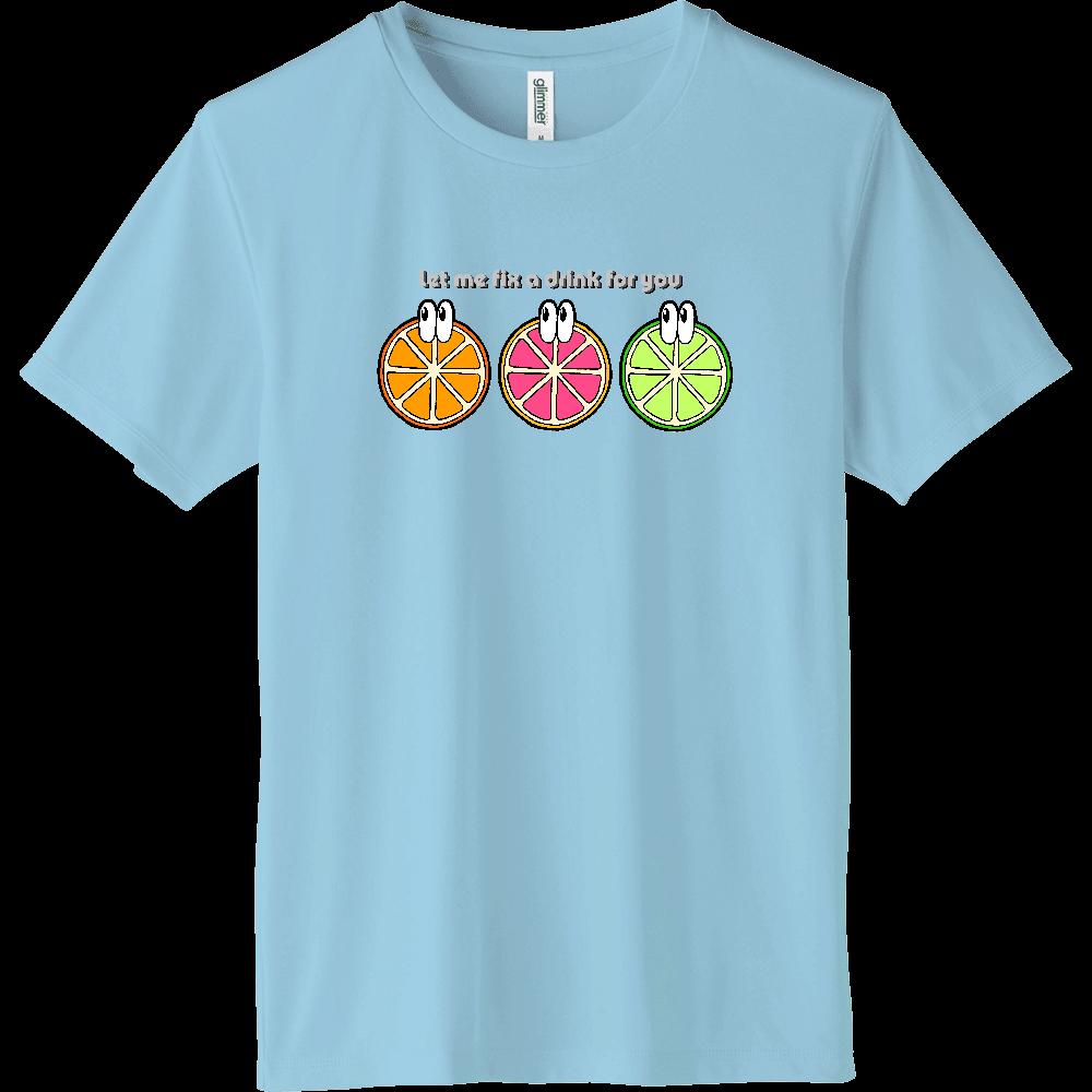 フルーツ/モンスター インターロックドライTシャツ