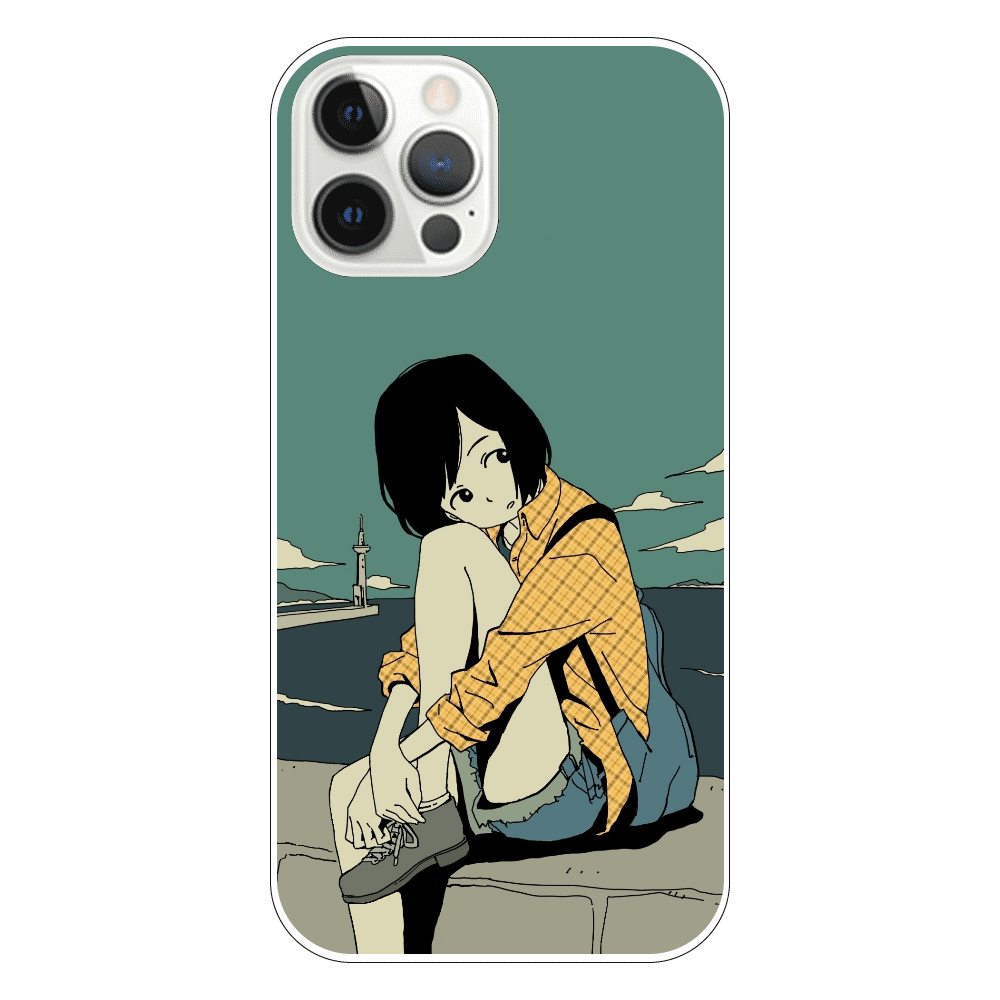 水平線 iPhone12 Pro