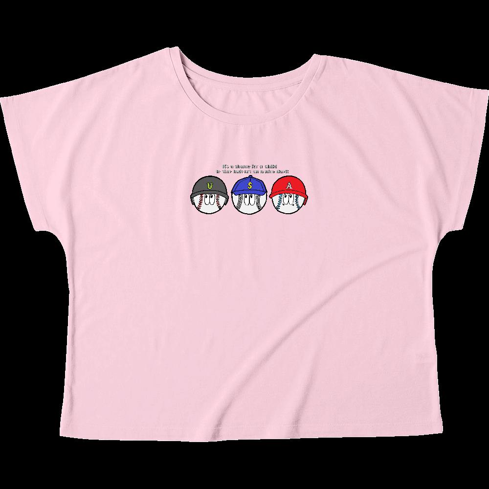 ベースボール/モンスター ウィメンズ ドルマン Tシャツ