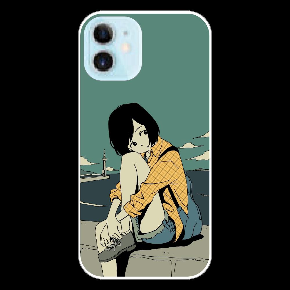 水平線 iPhone12 mini