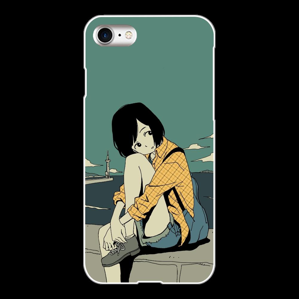 水平線 iPhone8(白)