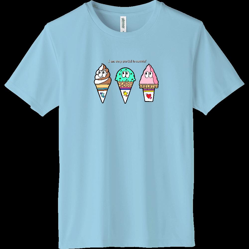 アイス/モンスター インターロックドライTシャツ