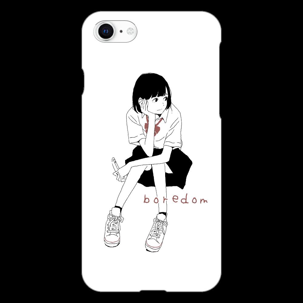 退屈 iphoneSE2(白)