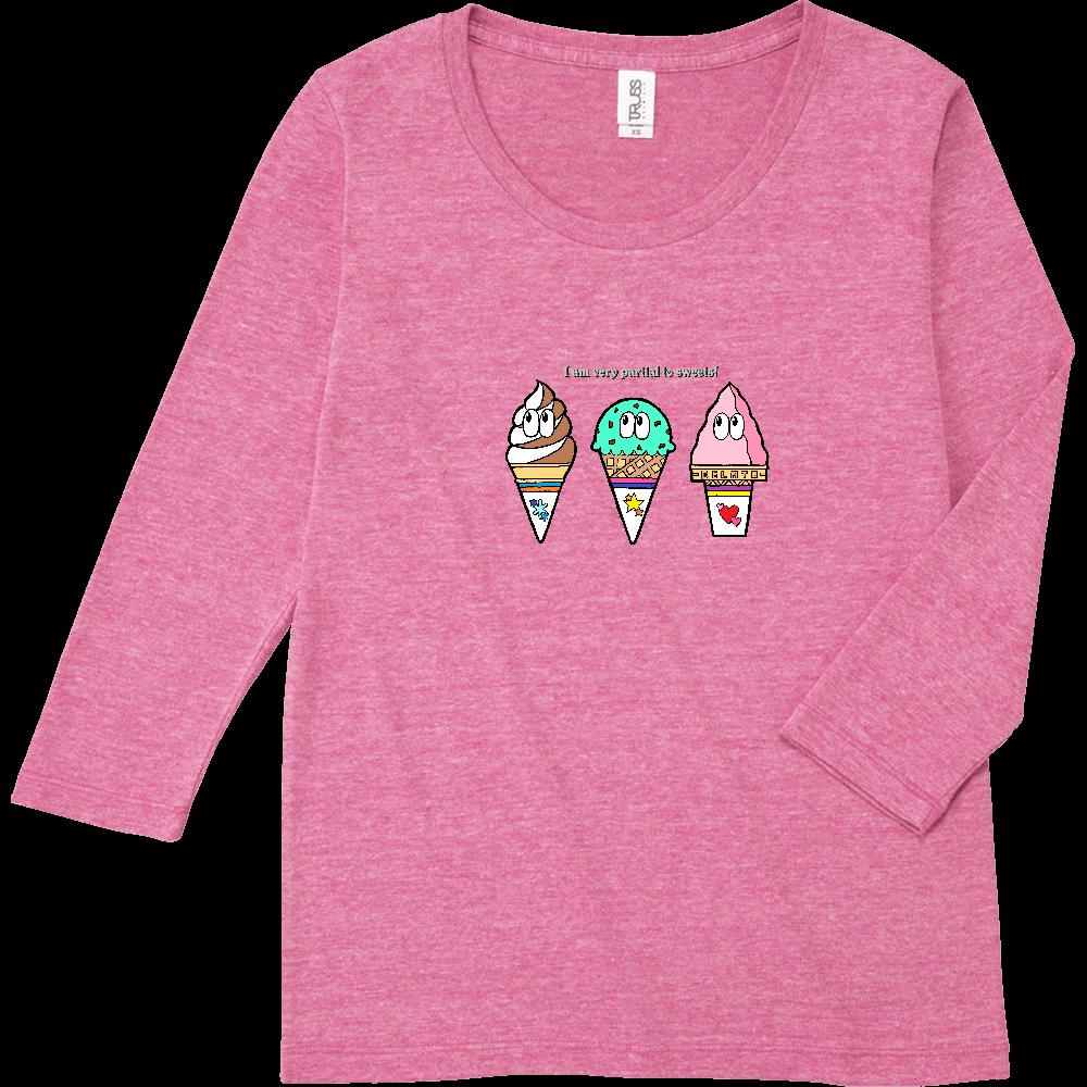 アイス/モンスター トライブレンド7分袖レディースTシャツ