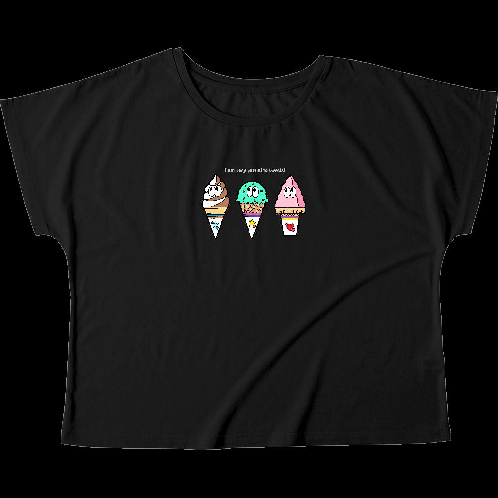 アイス/モンスター ウィメンズ ドルマン Tシャツ