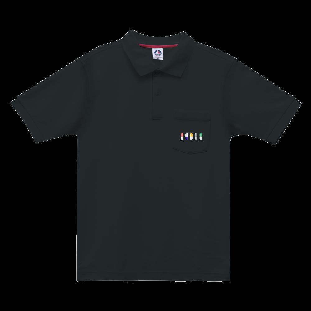 カプセル ポロシャツ ベーシックスタイルポロシャツ(ポケット付)