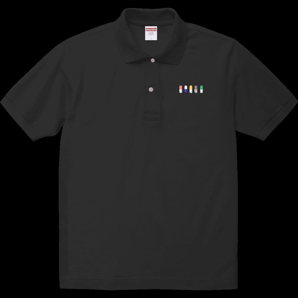 カプセル ポロシャツ ヘヴィーウェイトコットンポロシャツ