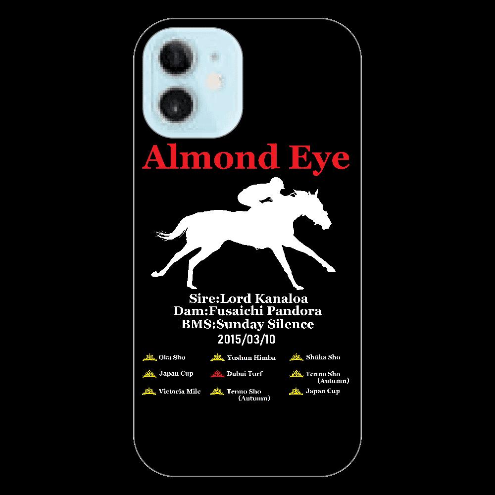 アーモンドアイ引退記念 スマホケース 透明 iPhone12 mini