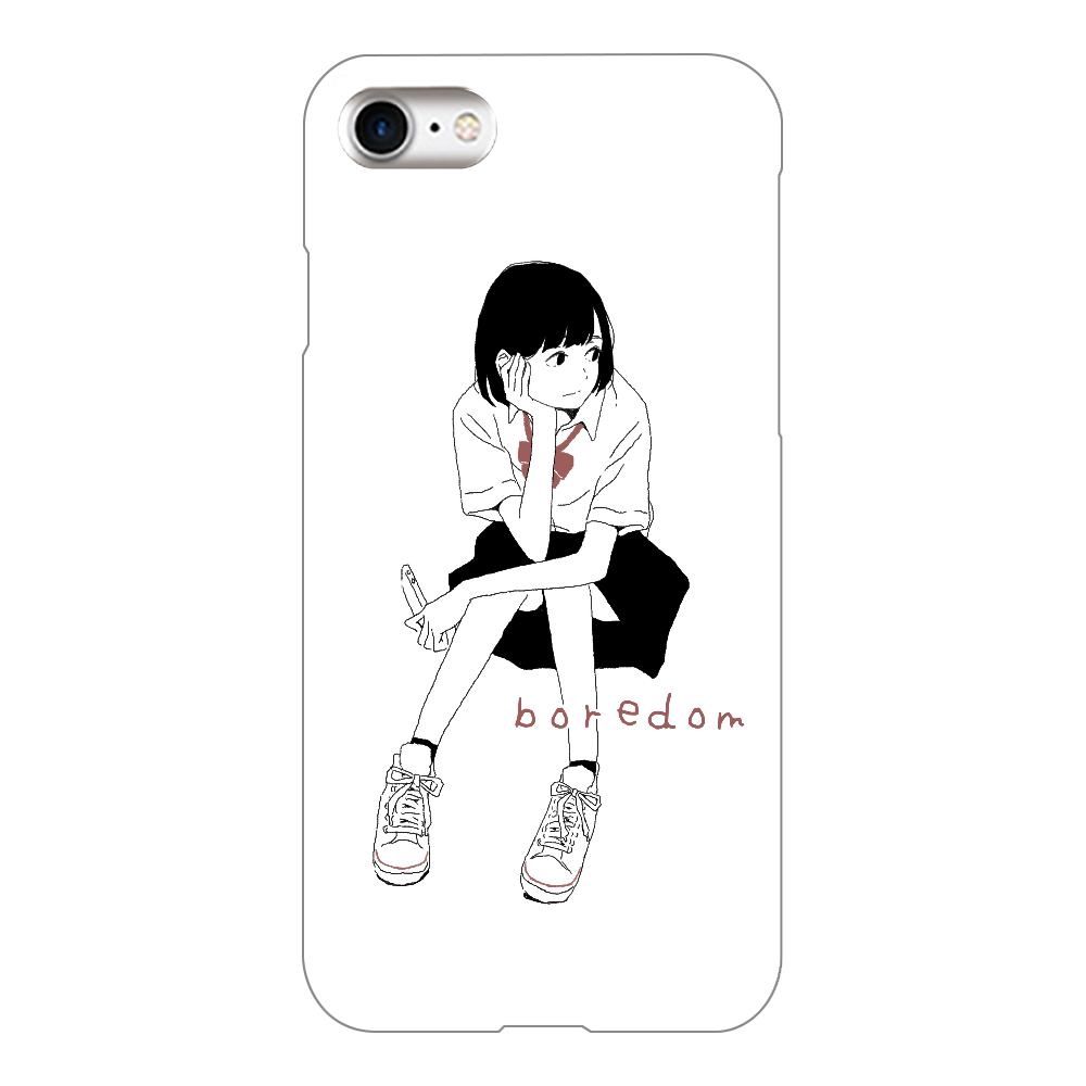 退屈 iPhone8(白)