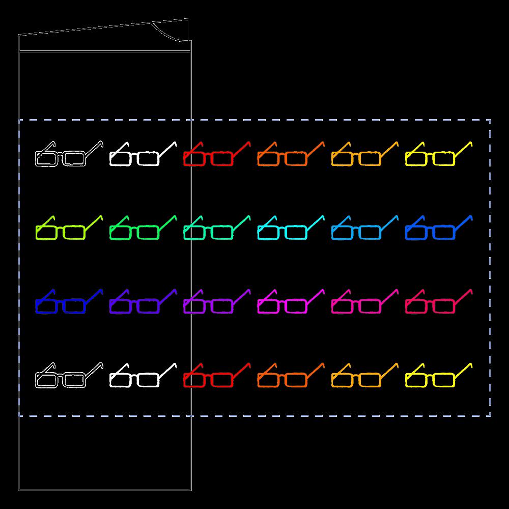 メガネ✕めがね✕眼鏡 フタ付サーモストレートタンブラー(450ml)