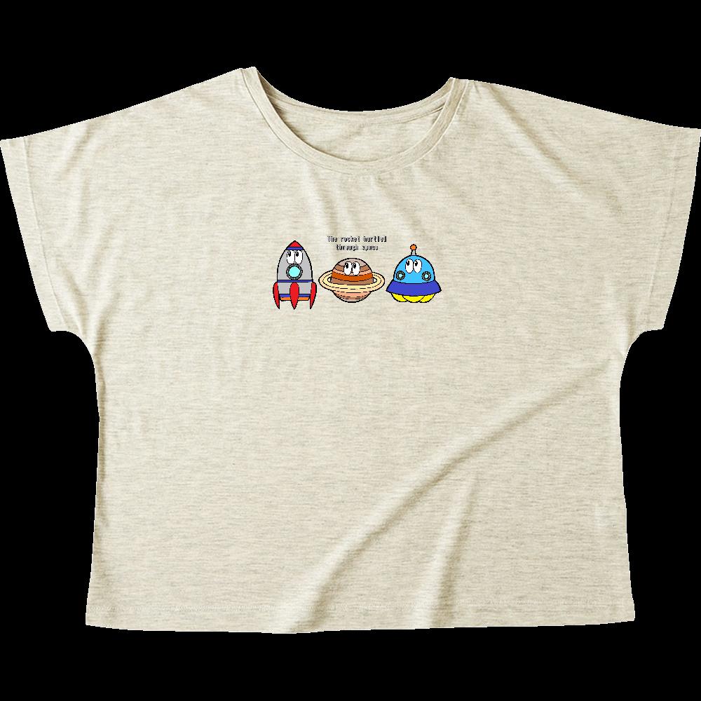 宇宙/モンスター ウィメンズ ドルマン Tシャツ