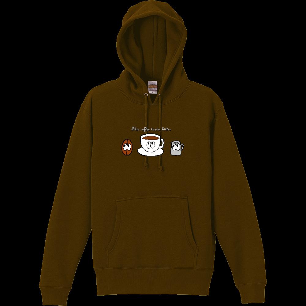 コーヒー/モンスター T/C スウェット プルオーバー パーカ