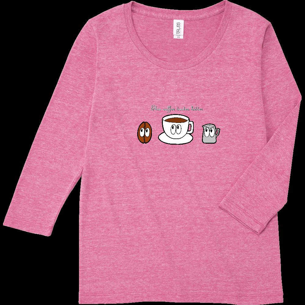 コーヒー/モンスター トライブレンド7分袖レディースTシャツ