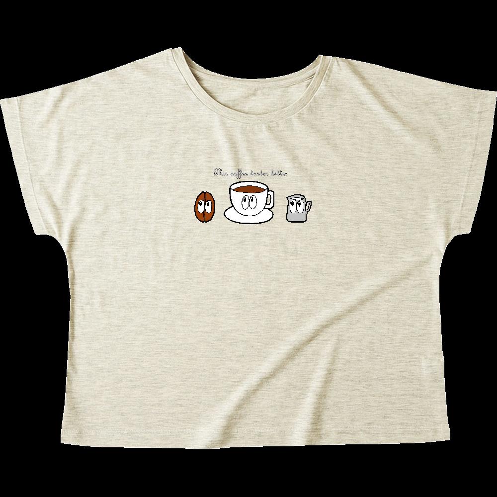 コーヒー/モンスター ウィメンズ ドルマン Tシャツ