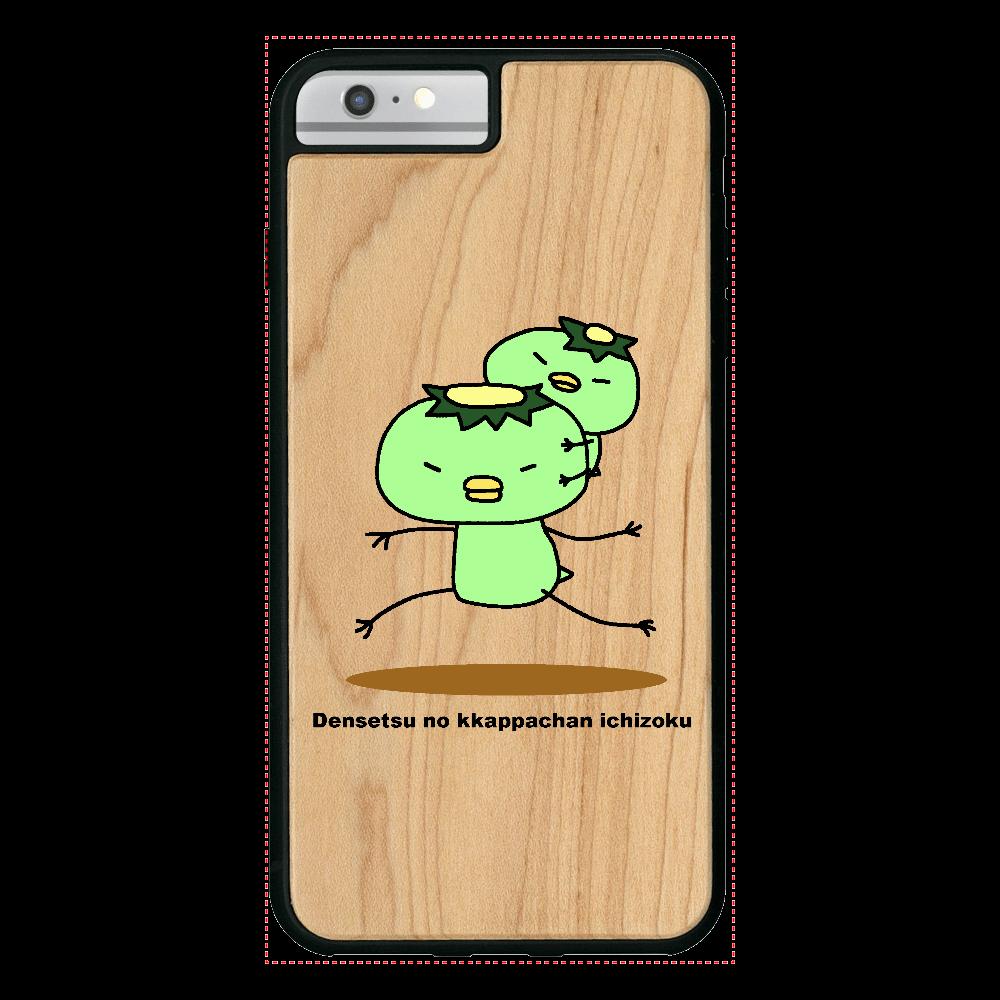 伝説のカッパちゃん一族vol.1 iPhone6/6S Plus ウッドケース