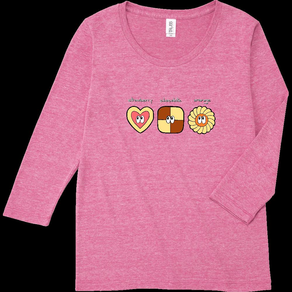 クッキー/モンスター トライブレンド7分袖レディースTシャツ
