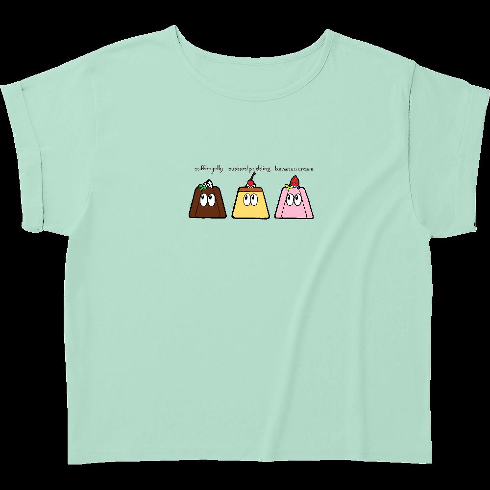 デザート/モンスター ウィメンズ ロールアップ Tシャツ