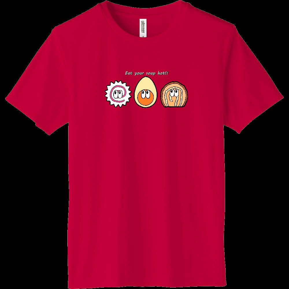 ラーメン/モンスター インターロックドライTシャツ