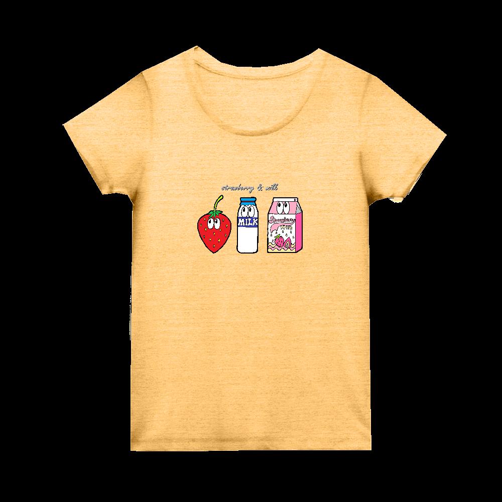 いちごミルク/モンスター トライブレンド ウィメンズ Tシャツ