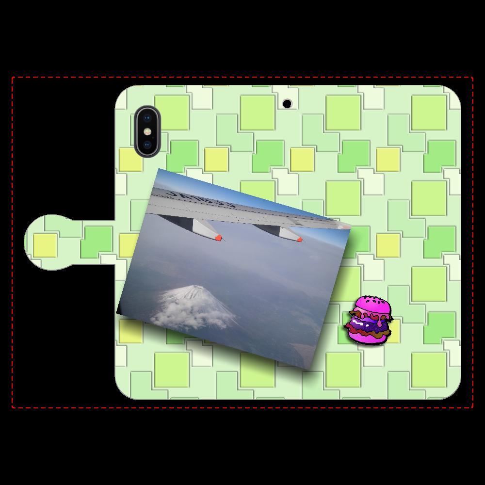 富士山 in the sky2 手帳型iPhoneX/Xs iPhoneX/Xs 手帳型スマホケース