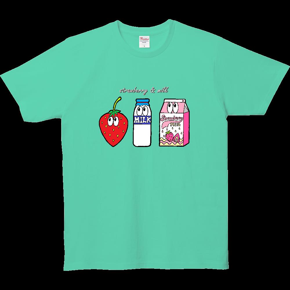いちごミルク/モンスター 5.0オンス ベーシックTシャツ(キッズ)