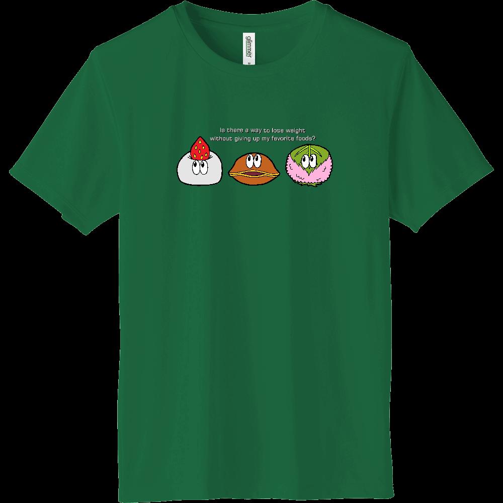和菓子/モンスター インターロックドライTシャツ