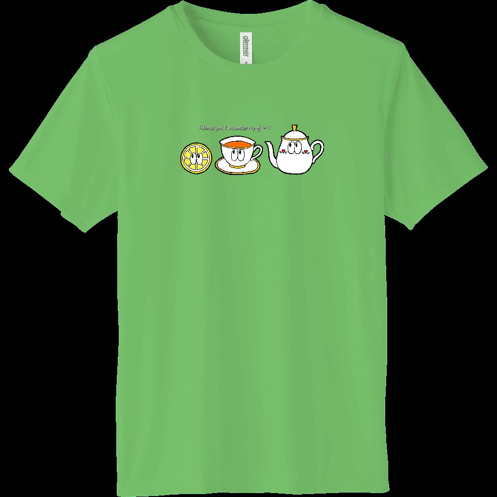 紅茶/モンスター インターロックドライTシャツ