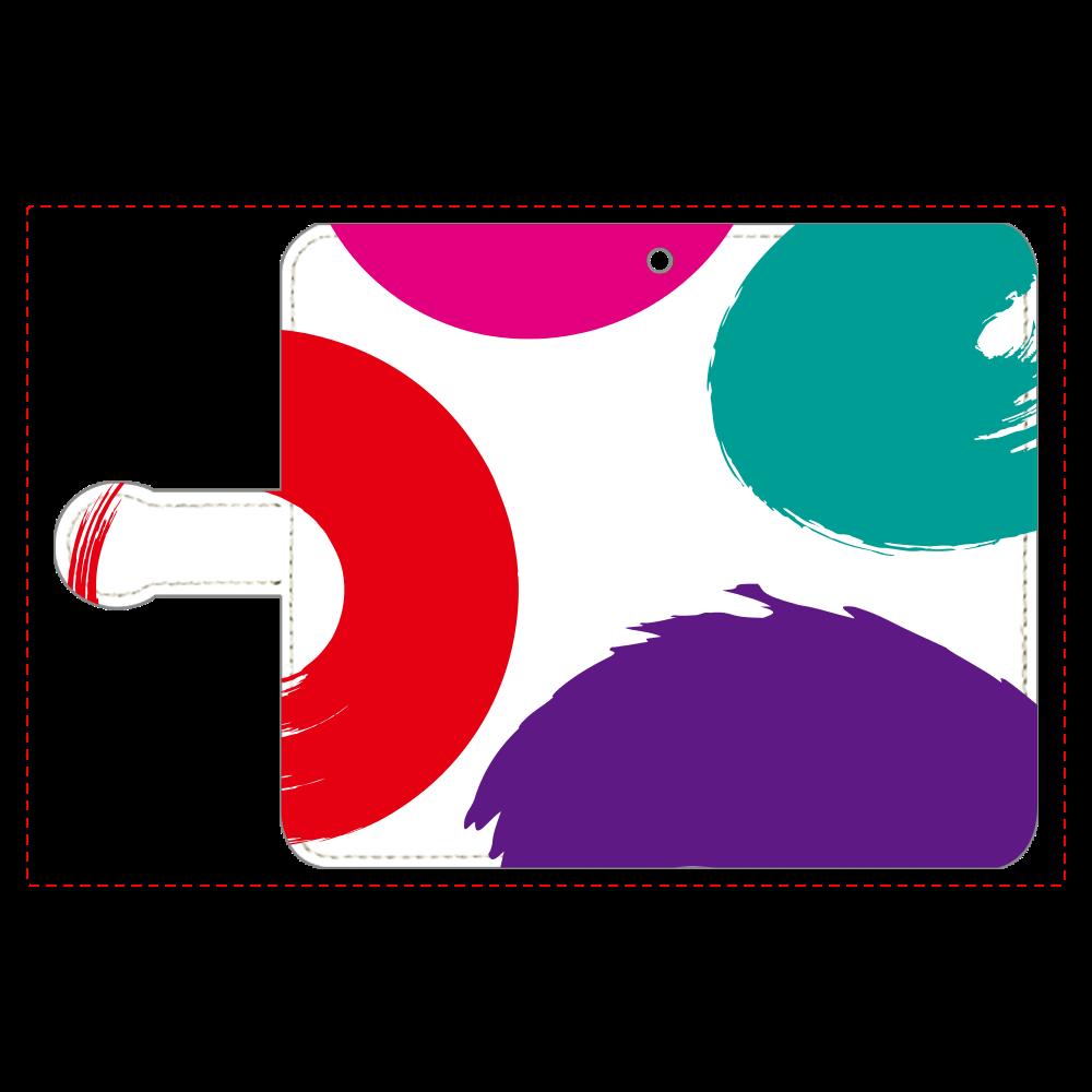 模様の手帳型ベルト付きアンドロイドS 手帳型ベルト付きアンドロイドS