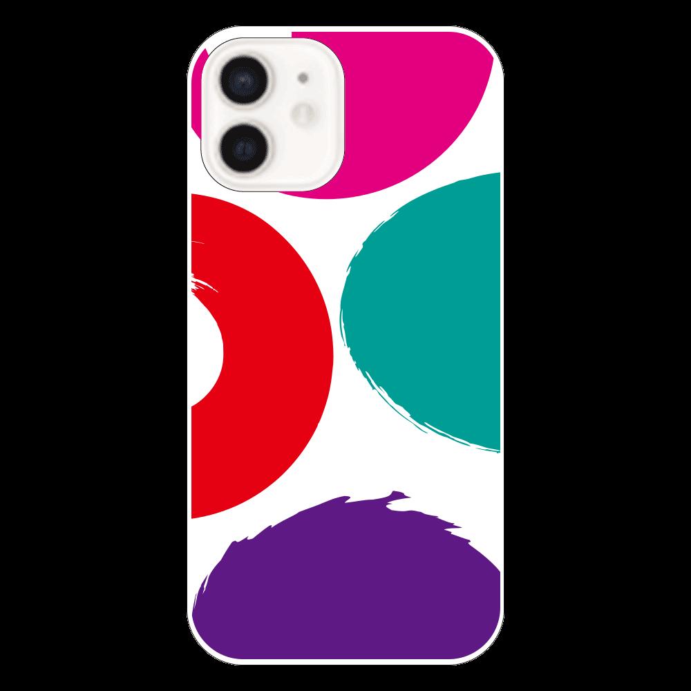 模様の表面のみ印刷iPhoneケースiPhone12 iPhone12