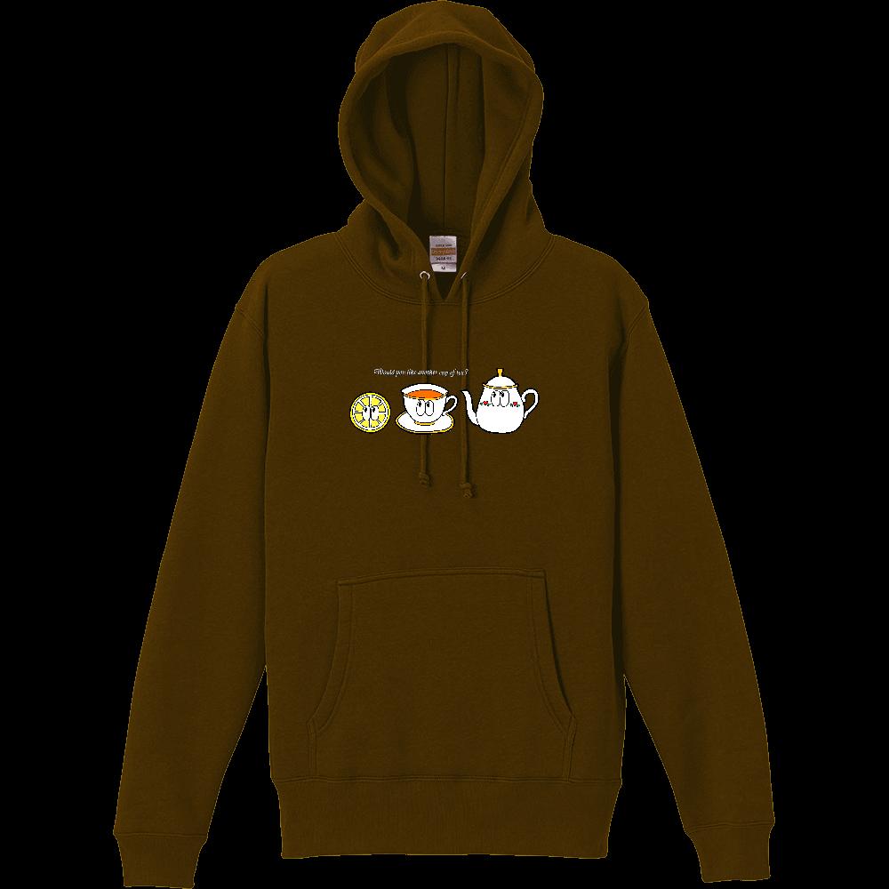 紅茶/モンスター T/C スウェット プルオーバー パーカ