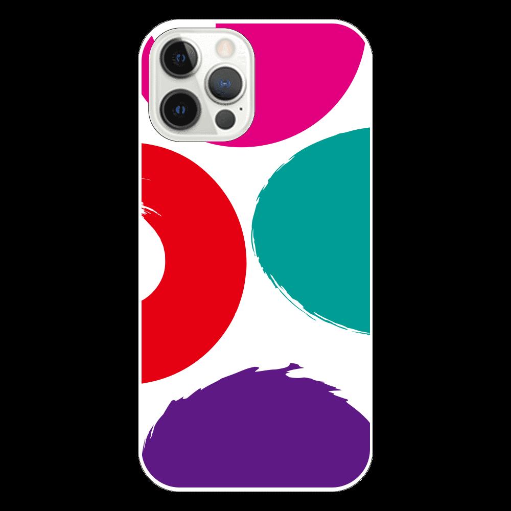 模様の表面のみ印刷iPhone12 Pro(透明) iPhone12 Pro(透明)