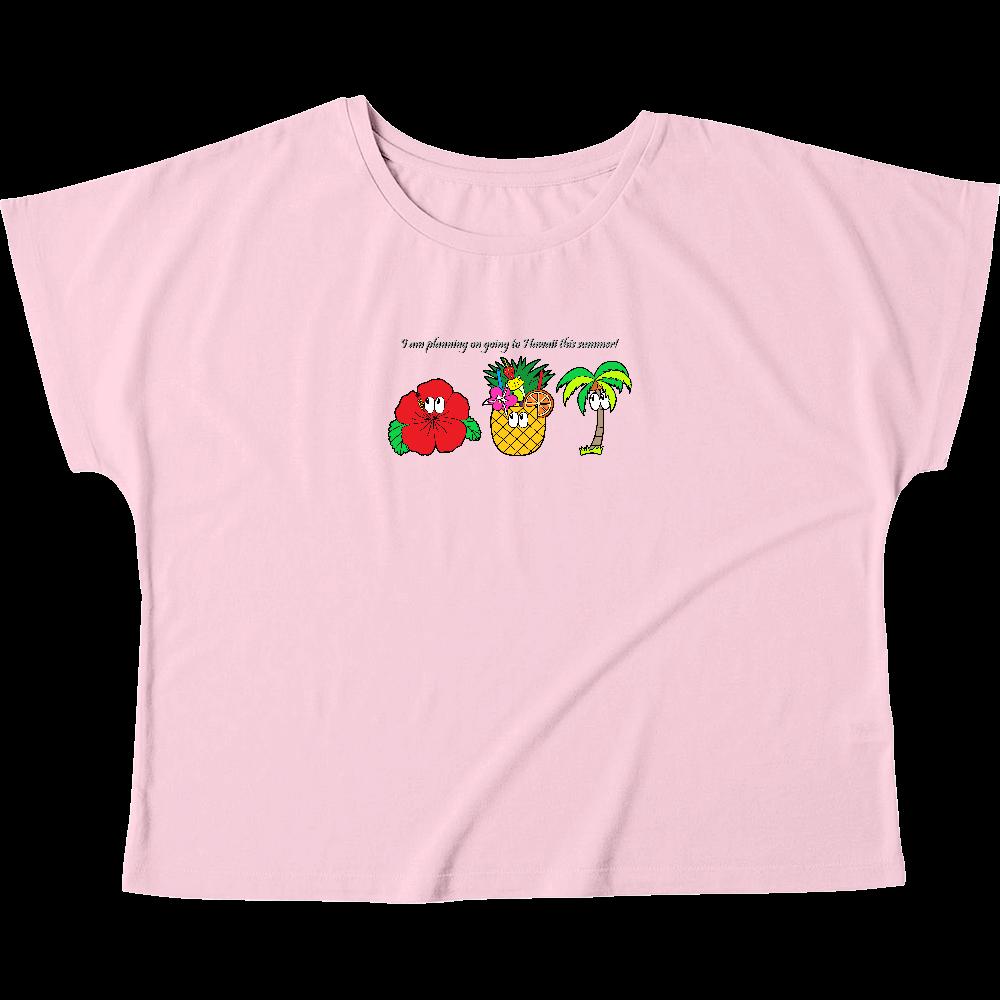 ハワイ/モンスター ウィメンズ ドルマン Tシャツ