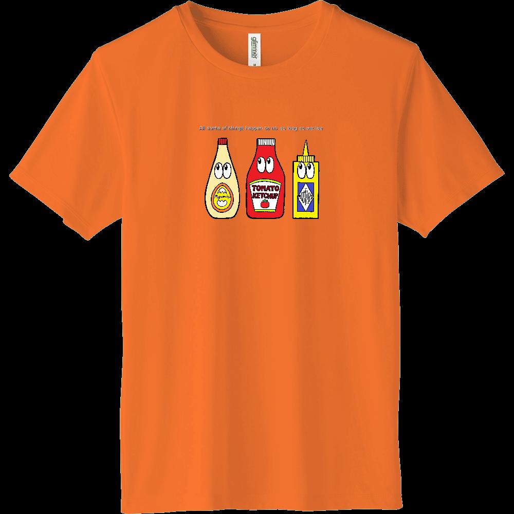 ソース/モンスター インターロックドライTシャツ