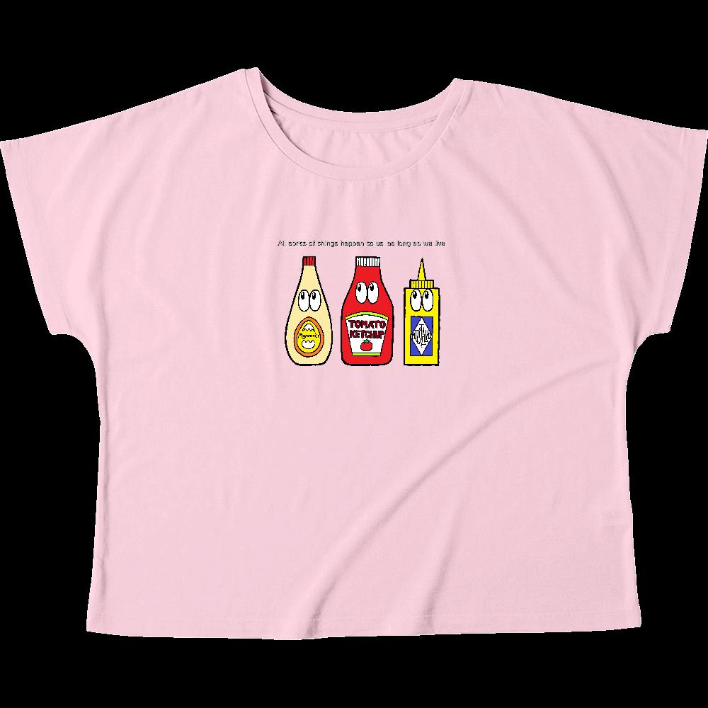ソース/モンスター ウィメンズ ドルマン Tシャツ