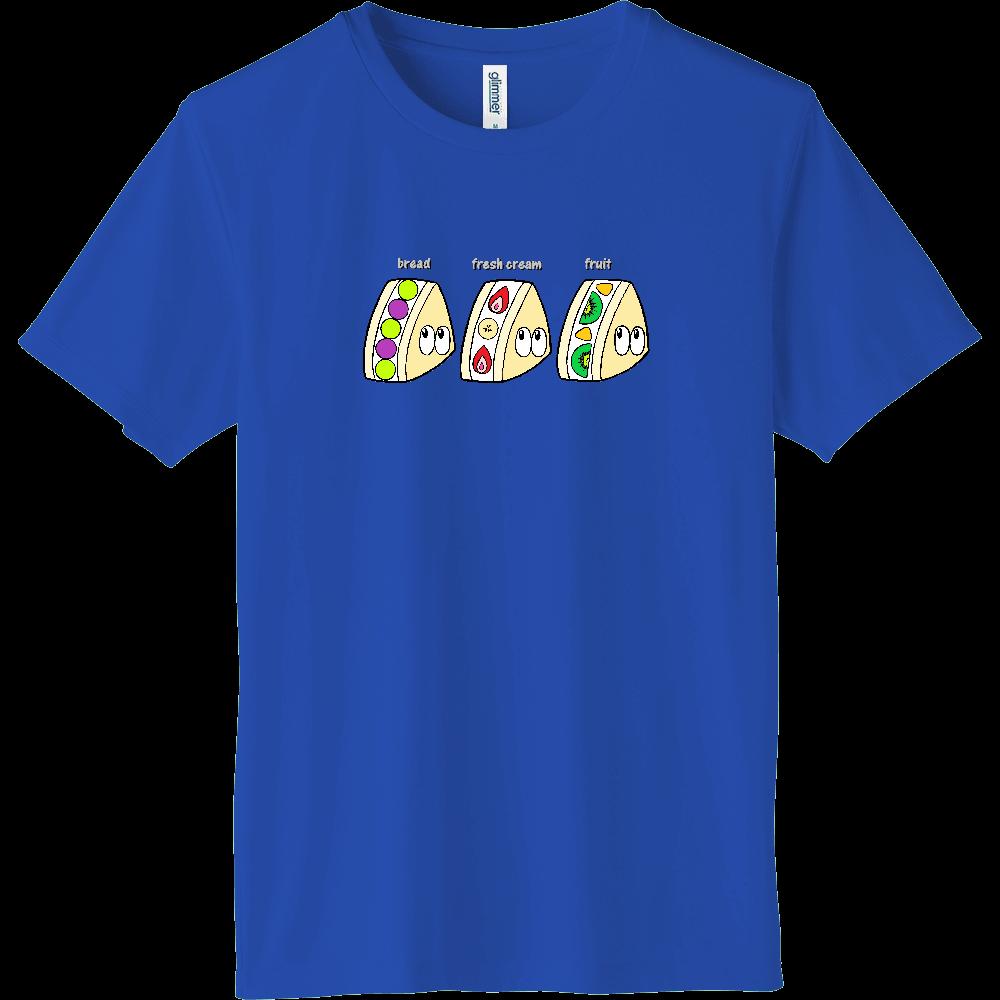 フルーツサンド/モンスター インターロックドライTシャツ