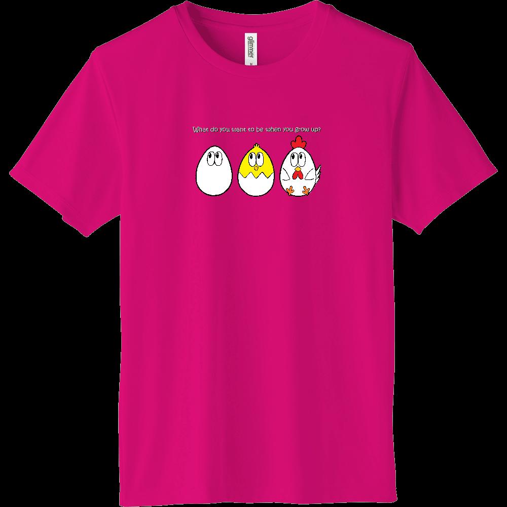 チキン/モンスター インターロックドライTシャツ