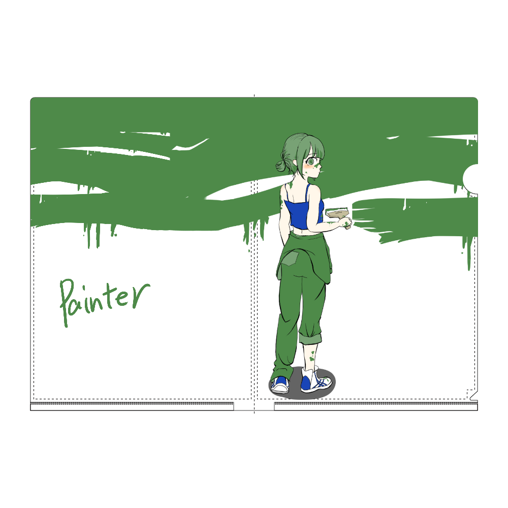 Painter A4フルグラフィッククリアファイル