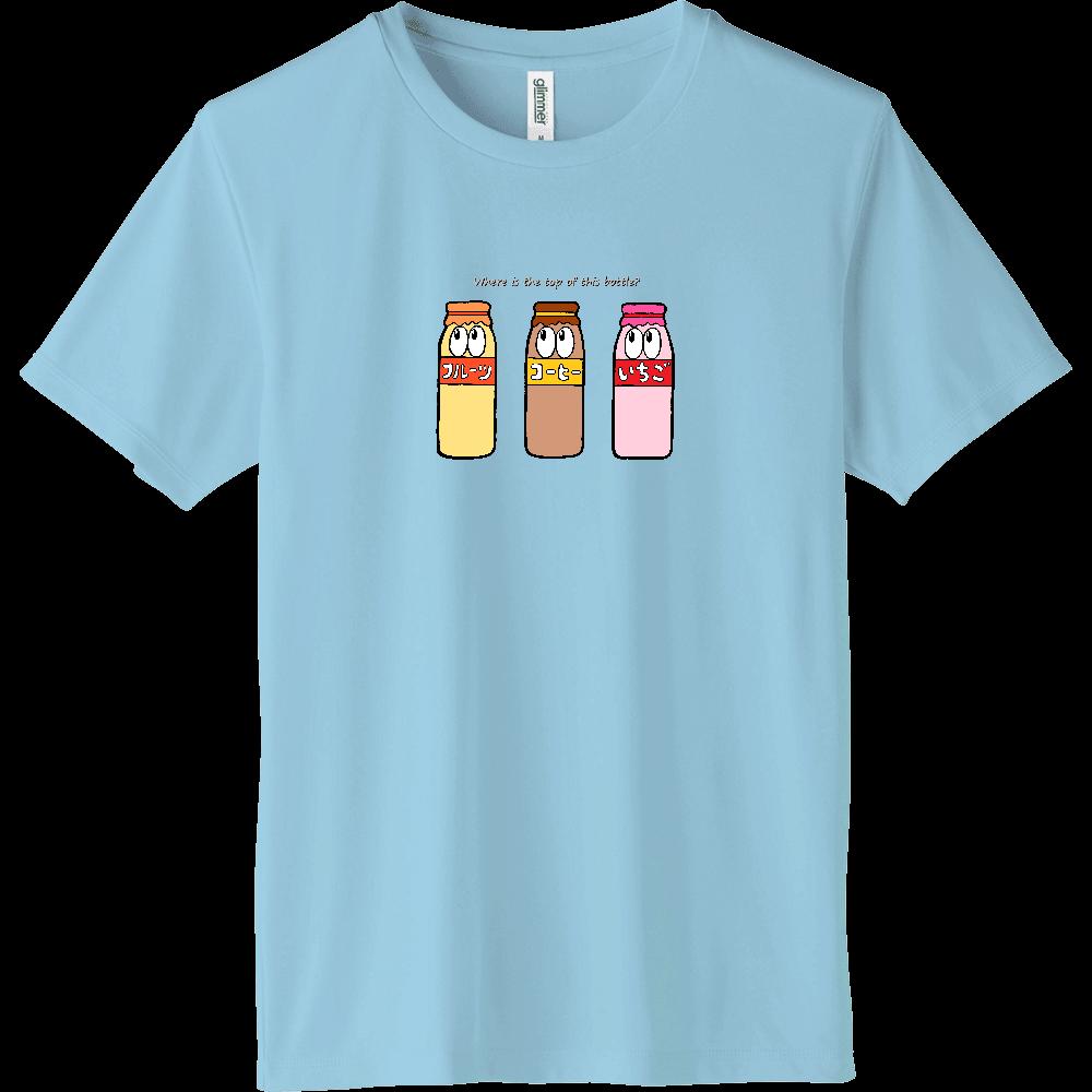 牛乳/モンスター インターロックドライTシャツ